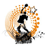 Basketball banner Royalty Free Stock Photos