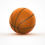 Basketball. Basket ball on white background Royalty Free Stock Photography