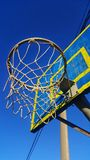 Basketball basket royalty free stock photos
