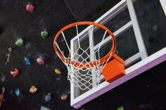 Basketball basket closeup Stock Photos