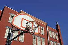 Basketball Basket Royalty Free Stock Photography