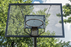 Basketball Basket grunge Royalty Free Stock Photography