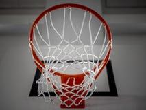Basketball basket indoor - 1 Stock Photography