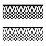 Basketball basket net seamless pattern. Illustration for the web Royalty Free Stock Photos