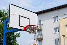 Basketball basket Stock Images