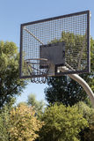 Basketball basket in the Park Stock Photo