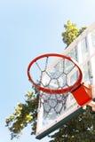 Basketball basket Stock Photography