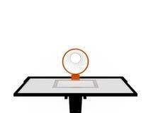 Basketball Basket Stock Image