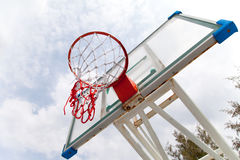 Basketball basket2 Royalty Free Stock Images