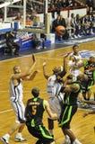 Basketball BCM/ASVEL Stockfoto