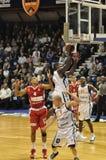 Basketball BCM/Elan Chalon Stockbilder