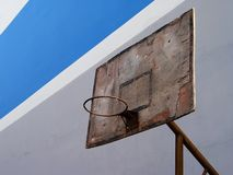 Basketball in Belgrad Lizenzfreies Stockfoto