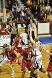 Basketball, Ben Woodside Stockbilder