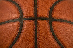 Basketball-Beschaffenheits-Makro Stockfoto