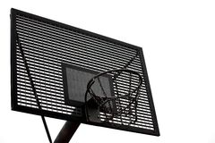Basketball board Stock Image