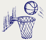 Basketball board Royalty Free Stock Image