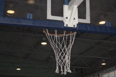 Basketball. Board basket photographed from different positions stock photography