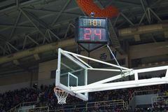 Basketball board with counter Stock Image