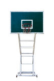 Basketball board in in white background Royalty Free Stock Image
