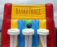 Basketball bouncer Stock Images