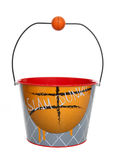 Basketball Bucket (Pail) Royalty Free Stock Photography