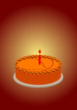 Basketball cake Royalty Free Stock Image