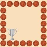 Basketball card royalty free stock image