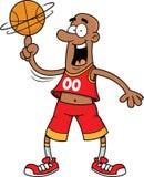 basketball cartoon head mascot player thumbs up Стоковое Изображение