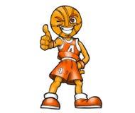 basketball cartoon player Стоковое Фото
