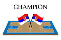 Basketball Champion Serbia Royalty Free Stock Images