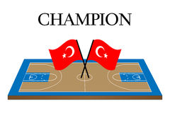 Basketball Champion Turkey Royalty Free Stock Images