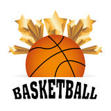 Basketball championship. Design, vector illustration eps10 graphic Royalty Free Stock Photography