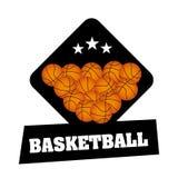 Basketball championship. Design, vector illustration eps10 graphic Stock Image