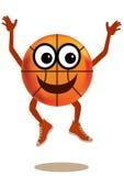 Basketball character Royalty Free Stock Photos