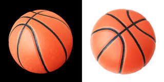 Basketball With (Clipping Path) Stock Photo Stock Image