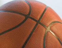 Basketball close-up. Close-up shot of a basketball Royalty Free Stock Images