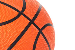 Basketball close up Stock Photography