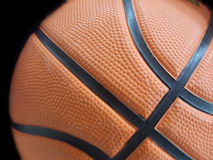 Basketball Close-up. Basketball Details Royalty Free Stock Photography