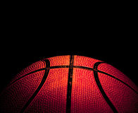 Basketball closeup Royalty Free Stock Photos