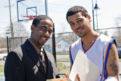 Basketball Coach Stock Image