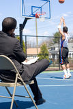 Basketball Coach Royalty Free Stock Images