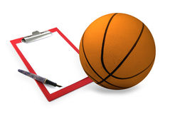 Basketball coach set Stock Photography