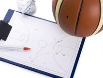 Basketball coach set Stock Image