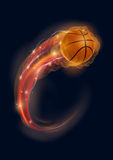 Basketball comet Royalty Free Stock Images