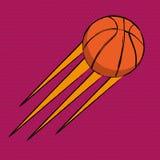 Basketball comics poster stock illustration