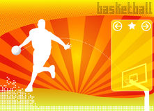 Free Basketball Concept Background Vector Stock Photo - 5322480
