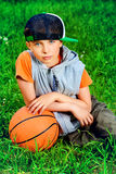 After basketball Stock Photo