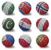 Basketball countries from N to P