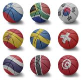 Basketball countries from S to T
