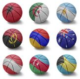 Basketball countries from A to B